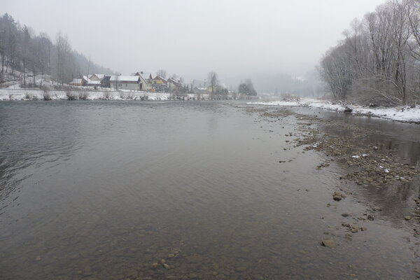Dunajec pri Červenom Kláštore.