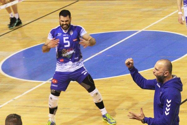 Smečiar Pablo Guzmán potiahol tím Mareka Kardoša do finále proti Prievidzi.