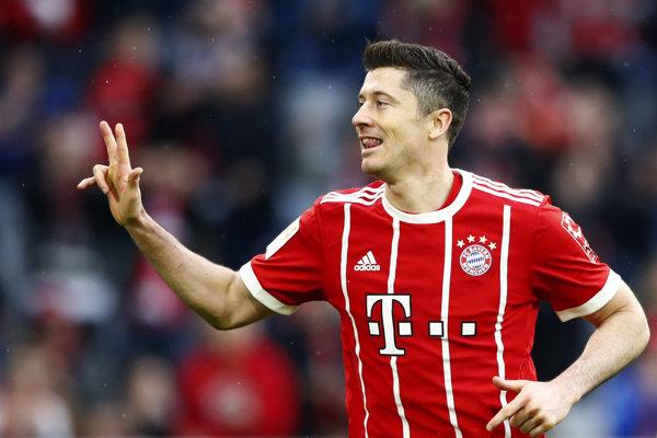 Robert Lewandowski patrí k hviezdam Bayernu.