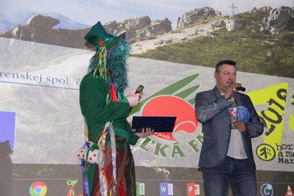 Tibor Adamko pútavo porozprával o turčianskej pitnej vode.