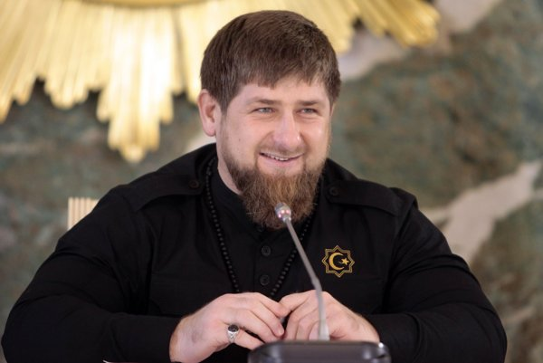 Češenský líder Ramzan Kadyrov.