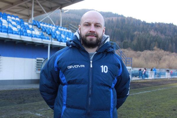 Tréner MŠK Tatran Krásno nad Kysucou Jaroslav Šidlo.
