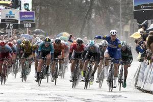 Jednodňové preteky v Belgicku napokon ovládol Holanďan Jakobsen.