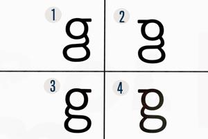 Väčšina účastníkov štúdie nevedela, ako vyzerá správna forma malého písmena G. Odpoveď nájdete v článku.