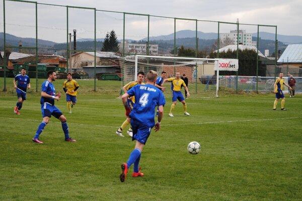 Futbalisti Bytče sa pripravujú od polovice januára. Ilustračné foto.