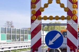 Vodičov čakajú na R1 pri Zvolene dopravné obmedzenia.