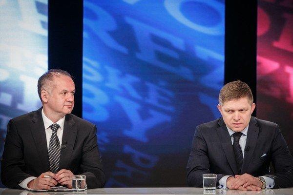 Andrej Kiska tvrdí, že je na otázky Roberta Fica pripravený a čaká odpovede aj od neho.