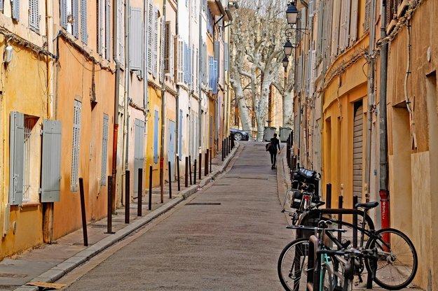 Uličky Aix-en-Provence