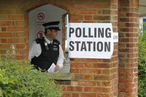 Eurovoľby v Británii.