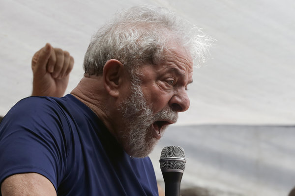 Brazílsky exprezident Luiz Inácio Lula da Silva.