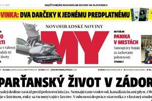 Aktuálne číslo MY Novohradských novín v predaji už od pondelka.