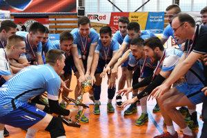 Pohár za tretie miesto si zPrešova zobrali hráči Svidníka.