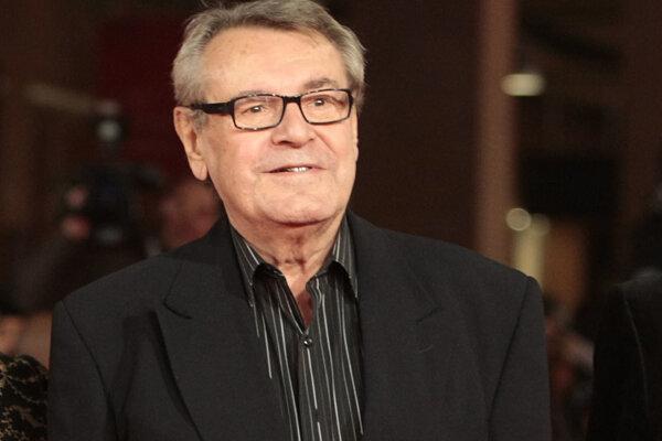 Česko-americký režisér Miloš Forman.