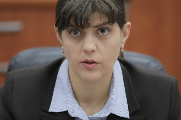 Laura Codruta Kövesiová.
