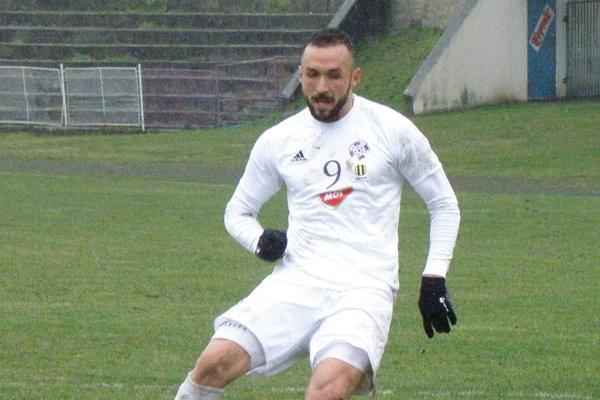 Autor štyroch gólov v zápase proti Spišskej Novej Vsi Samir Nurkovič.