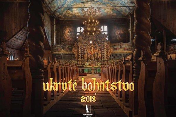Titulná strana oceneného kalendára.