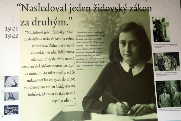 Písala si denník, ktorý ovplyvnil svet. Anna Franková si udalosti zaznamenávala od trinástich rokov.