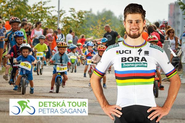 Fanúšikovia cyklistiky - veľkí aj malí - sa môžu tešiť na nedeľňajšie preteky s účasťou Petra Sagana.