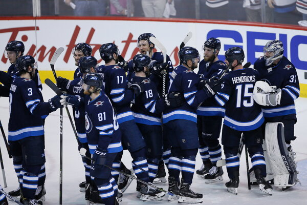 Hokejisti Winnipegu.