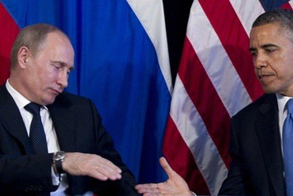 Vladimír Putin a Barack Obama.