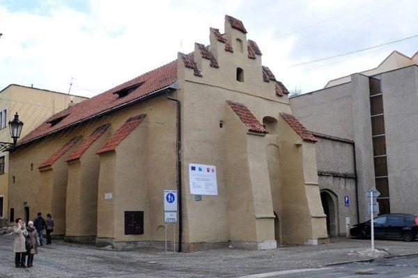 Galérii v Caraffovej väznici v Prešove.