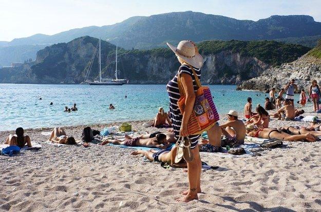 Korfu, Grécko.