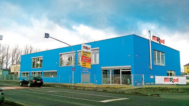 Novopostavená budova Miradu v Poprade v roku 2014.