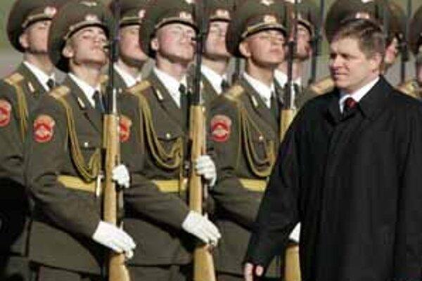 Premiér Robert Fico počas oficiálnej návštevy Ruska.