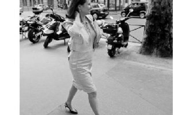 Ségolene Royalová v Paríži.