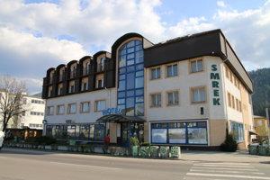 Hotel v centre Liptovského Hrádku.