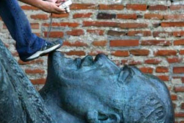 Lenin v Mogosoaie pri Bukurešti.