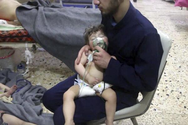 Podľa ruskej a sýrskej vlády v Dúme k žiadnemu chemickému útoku nedošlo.