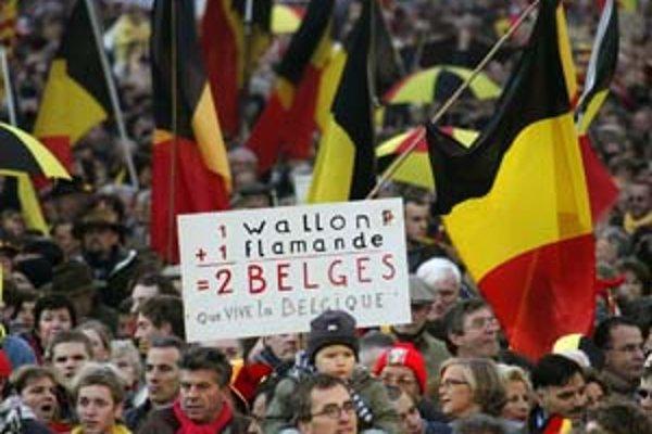 Väčšina Belgičanov zatiaľ rozdelenie svojej krajiny odmieta.