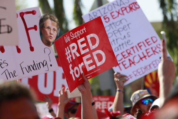 Protest učiteľov