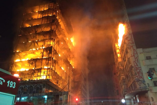 Požiar vypukol okolo pol druhej v noci.