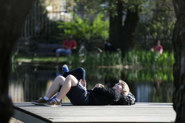 Relax v Mestskom parku.