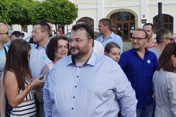 Podnikateľ a občiansky aktivista Radovan Ceglédy tvrdí, že Rimavská Sobota potrebuje zrýchliť.