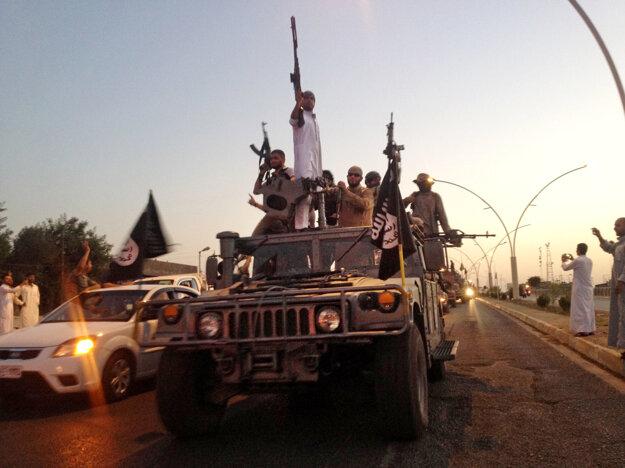 Militanti z Islamského štátu.