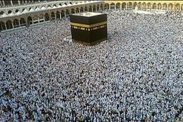 Kaaba v Mekke.