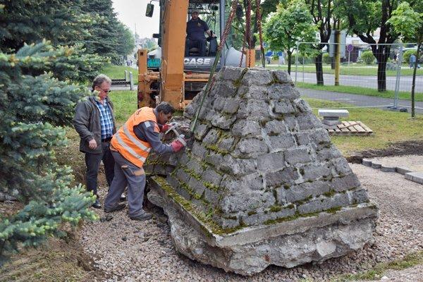 Obnovený pomník odhalia  na Dňoch mesta.