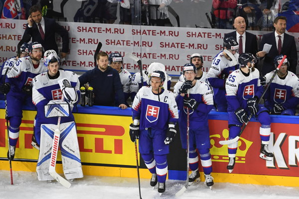 Slovenskí hokejoví reprezentanti.