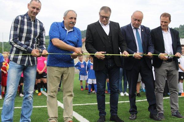 Zľava: Zdeno Štrba, Jozef Grapa, Ján Kováčik, Stanislav Špila aPeter Dedík.
