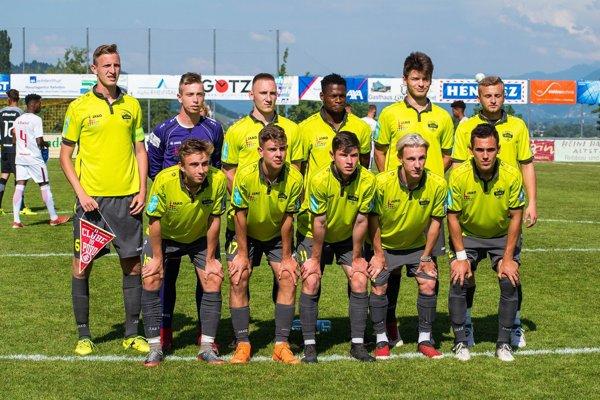 Takto nastúpili dorastenci FC Nitra k zápasu o bronz proti brazílskeho Porto Alegre.