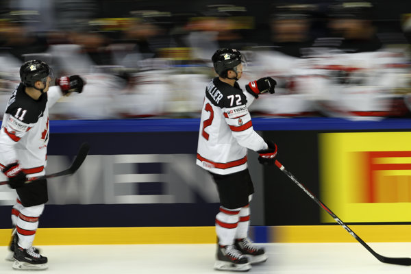 Hokejisti Kanady - ilustračná fotografia.