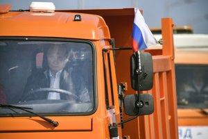 Most slávnostne otvoril ruský prezident Vladimír Putin.