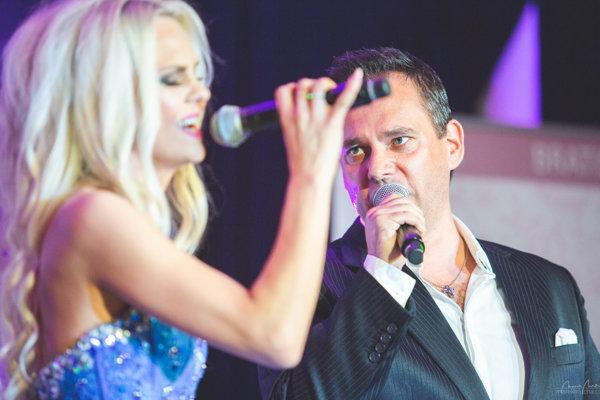 Na koncerte vystúpili aj Mimi Ševčíková a Peter Ševčík z La Gioie.