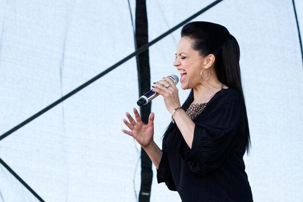 Lucie Bílá so svojím typickým chrapľavým hlasom bola vrcholom podujatia