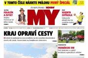 Titulná strana týždenníka MY Zemplínske noviny č. 20/2018.