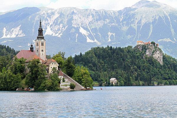 Najkrajšie miesta v Slovinsku, ktoré vidieť.