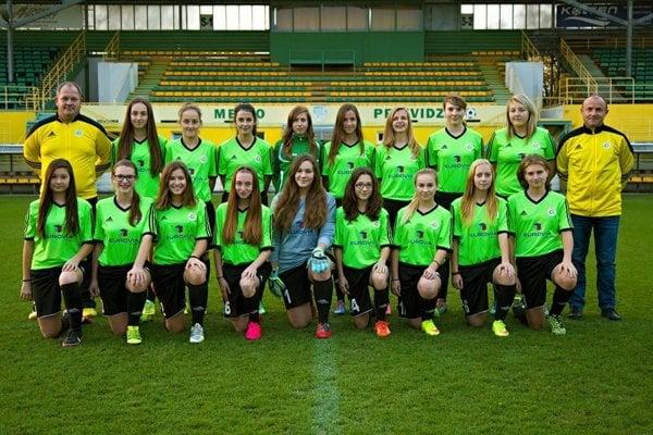 Juniorky FC Baník HN Prievidza & Handlová.